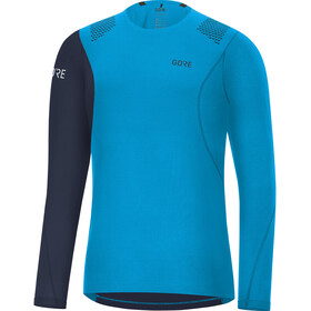 GORE WEAR R7 Longsleeve Shirt Heren, dynamic cyan/orbit blue